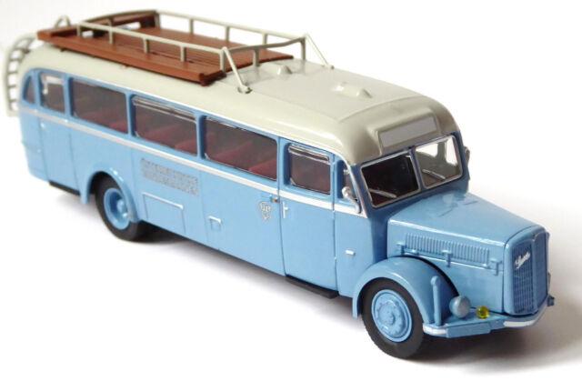 H0 BREKINA Starline Bus Saurer BT4500 ÖBB Österreichische Bundesbahnen # 58072