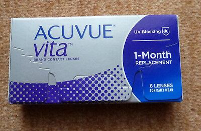 Acuvue Vita Kontaktlinsen Monat 6 Linsen in Originalverpackung +0,75 BC 8,8