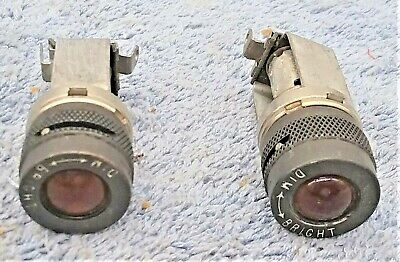 TWO  NOS  AC-42B-3593-2 Dash Aircraft Instrument Panel Dimming Light