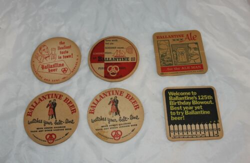 Ballantine Beer Ale Coasters Free Shipping