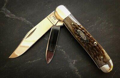 CASE XX 6249 Copperhead Knife 1979 Jigged Bone Carbon Steel Vintage Near MINT