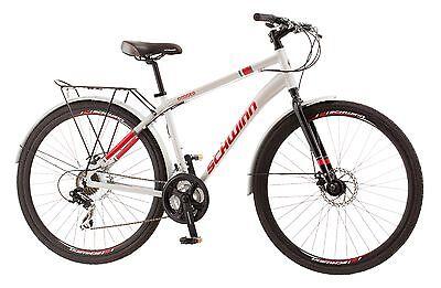 700c Schwinn Hybrid Commuter Bike Dodger, Silver