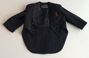 Toddler Boys Black Suit Three Piece Suit Size 18-24 months Cambridge Kitchener Area image 4