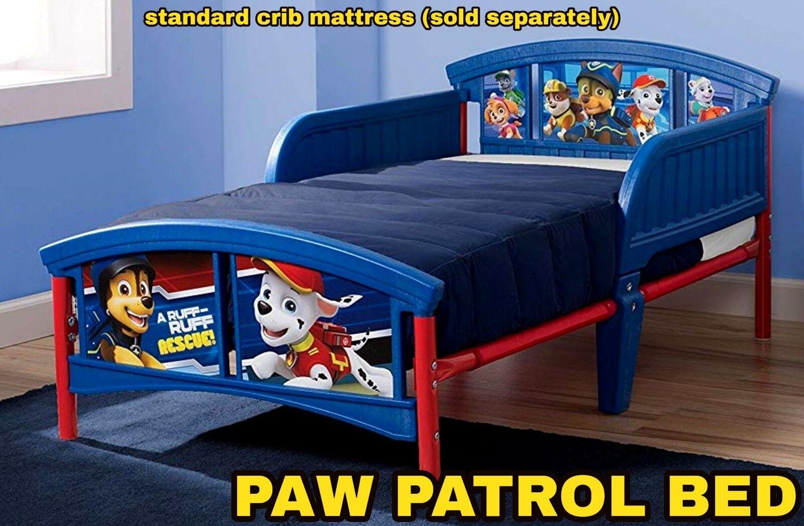 paw patrol nick jr toddler bed