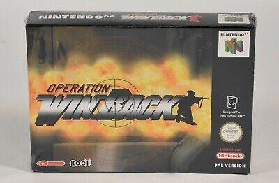 Nintendo N64,Operation WinBack PAL Version,Neu/eingeschweißt
