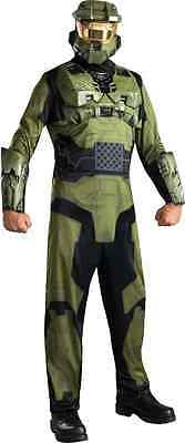 Master Chief Halo Officer John-117 Military Soldier Halloween Adult Costume ()