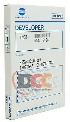 Dv511 Developer For Konica Minolta Bizhub 360 361 420 421 500 501 024g