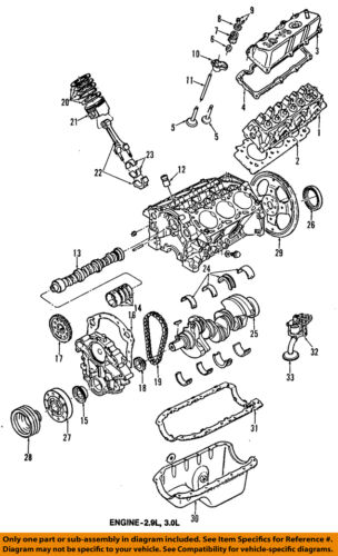 FORD OEM-Engine Piston 1U2Z6108CA