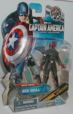 """Captain America The First Avenger Marvel Universe RED SKULL MIP 3.75"""""""