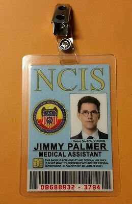 Ncis Tv-Serie Id Abzeichen - Medizinische Assistent Jimmy - Assistenten Kostüm