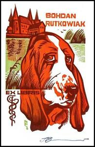 Leonenko Vasyl 1996 Exlibris X3 Dog Hund Pies Medicine Architecture 702 - <span itemprop='availableAtOrFrom'>Dabrowa Bialostocka, Polska</span> - Leonenko Vasyl 1996 Exlibris X3 Dog Hund Pies Medicine Architecture 702 - Dabrowa Bialostocka, Polska