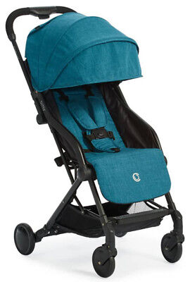 Contours Bitsy Ultra-Lightweight Compact Fold Baby Travel Stroller Bermuda Teal