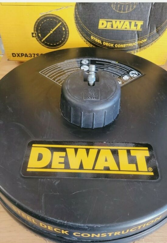 """DEWALT 18"""" Surface Cleaner for Gas and Regular Pressure Washers up to 3700psi"""