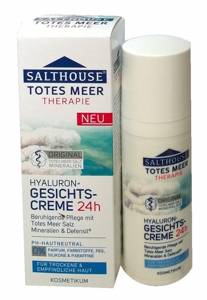 SALTHOUSE® Totes Meer Therapie Hyaluron-Gesichtscreme für trockene Haut 50ml
