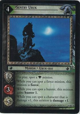 LOTR CCG The Hunters Foil 15RF14 Sentry Uruk