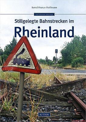Fachbuch Stillgelegte Bahnstrecken im Rheinland, Einblick mit vielen Bildern NEU