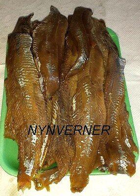 Smoked Herring Fish 1lb. Skinless Salted Fillet.