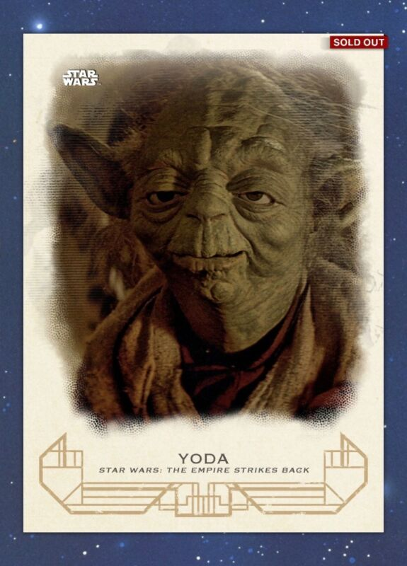Topps Star Wars Card Trader Ways of the Jedi #2 Purple The Gathering DIGITAL