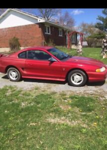 1995 mustang (parts only)