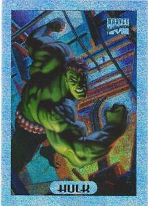 1994 Marvel Masterpieces 4 Hulk Holofoil Chase Card | eBay