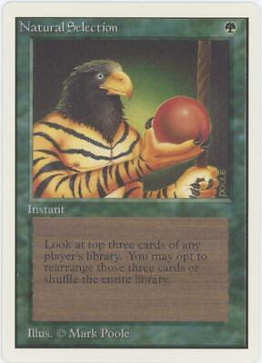 Magic the Gathering - Natural Selection - Unlimited Edition MTG