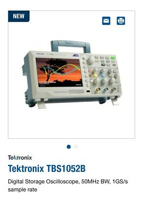 Tektronix Tbs1052b Tbs1072b Oscilloscope 50 Mhz 2 Channel1.0 Gss Sample Rate