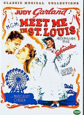 MEET ME IN ST.LOUIS (1944) Judy Garland, Margaret O'Brien [DVD] FAST SHIPPING