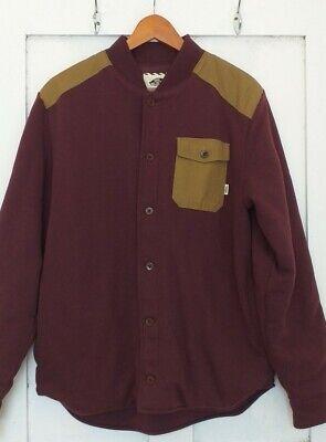 Men's Vans Jacket Small Burgundy
