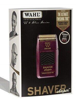 Wahl 5 Star Shaver/Shaper with Bonus Bump-Free Foil Inside