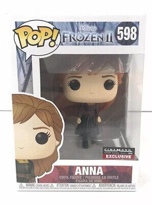 Funko POP Disney Vinyl Frozen II #598 Anna RARE Cinemark Exclusive Figure NEW