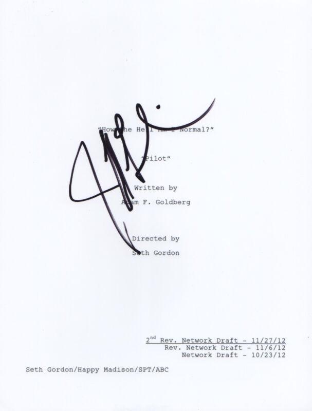 Jeff Garlin Signed Autographed The Goldbergs Full Pilot Episode Script