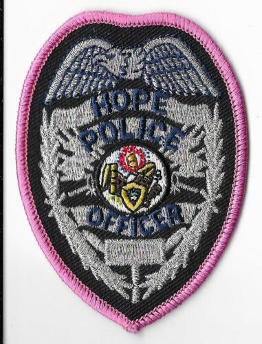 Hope Police Department, Arkansas Breast Patch V3
