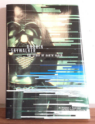 Star Wars Hardcover Book- Anakin Skywalker, The Story of Darth Vader- FREE S&H