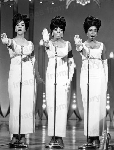 8x10 Print The Supremes Diana Ross Mary Wilson Florence Ballard 1958 #5125
