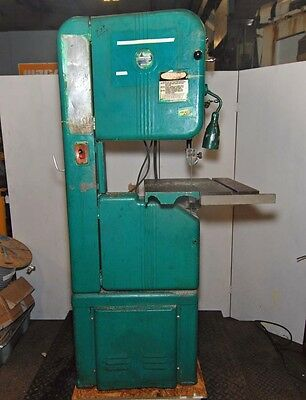 Walker Turner 16 Woodmetal Vertical Band Saw 78-010 Inv.30492