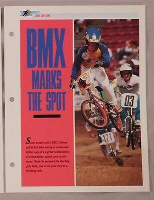 Super BMX magazine October 1981 race vintage old school uncirculated rare