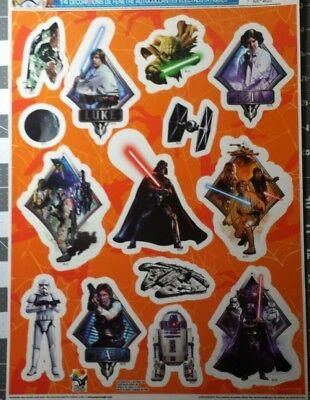 New Disney Halloween Window Clings Star Wars Darth Vader Droid Skywalker - Disney Halloween Window Clings