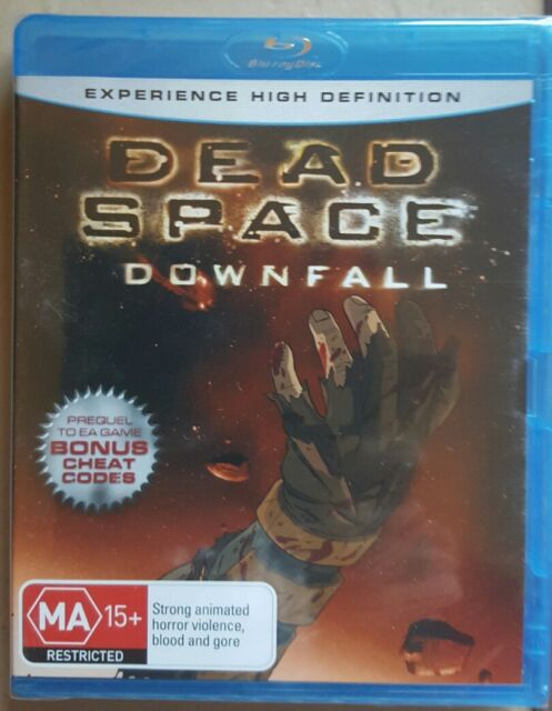 Dead Space - Downfall (Blu-ray, 2008, 2-Disc Set)