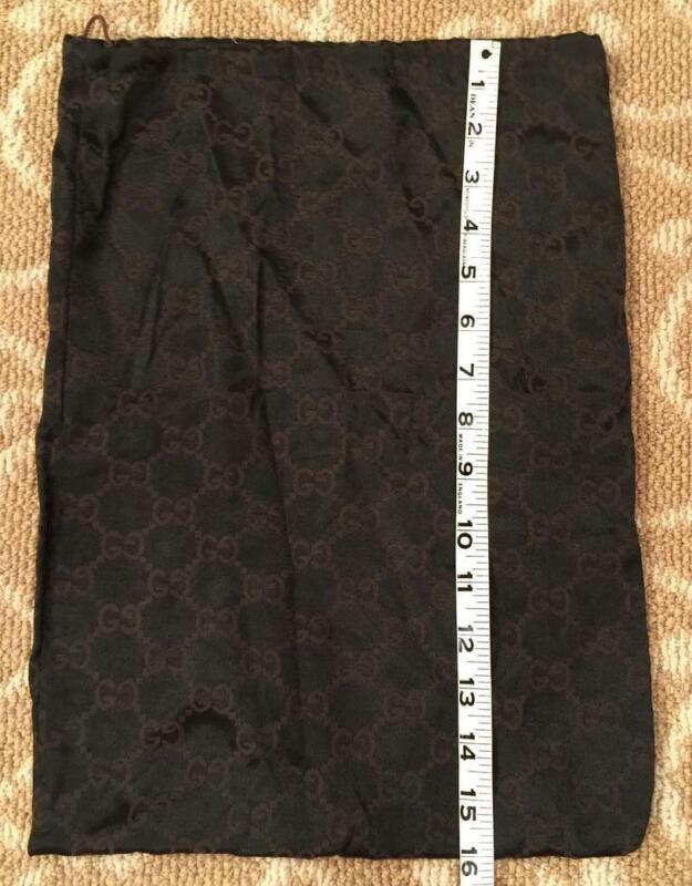 "Gucci Logo Dust Bag 16"" x 12"""