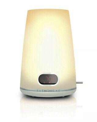 Philips Wake-up Light/Alarm Clock Radio HF3471/60, White