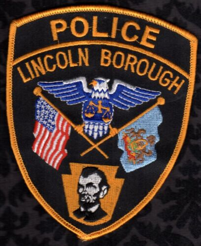Lincoln Pennsylvania Police Shoulder Patch