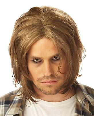 Grunge Kirk Cobain Adult Costume Wig