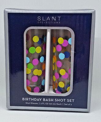 21 Finally Birthday Bash Shot Glass 2 oz Set of 2 NEW Shotglass 21st Celebration](21st Birthday Shot Glass)