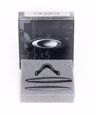 NEW Oakley Pro M Frame BLACK  Replacement Nose Ear Pieces Pad Sockets (Oakley Pro Frame)