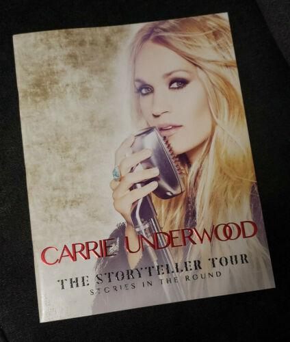 Official Carrie Underwood The Storyteller Tour Program Book 2016 Stunning Photos