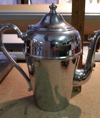 Vintage Cromwell Silver Mfg Chromium Coffee/Tea Pot