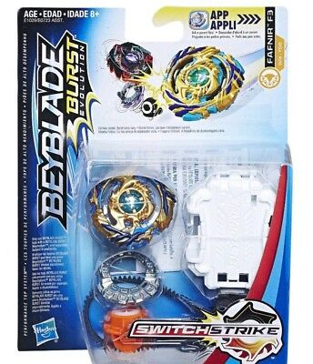 Beyblade Burst Drain Fafnir F3 Hasbro Evolution Absorb Switch Strike USA SELLER