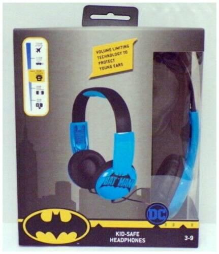 Batman Headphones For Kids Best Over Ear Headphones Kid Safe