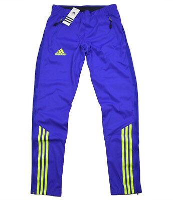 Adidas Athleten Pant DSV Skihose Warmhaltehose Langlauf Sweat Hose Woman Blau S Langlauf Ski Hose Herren