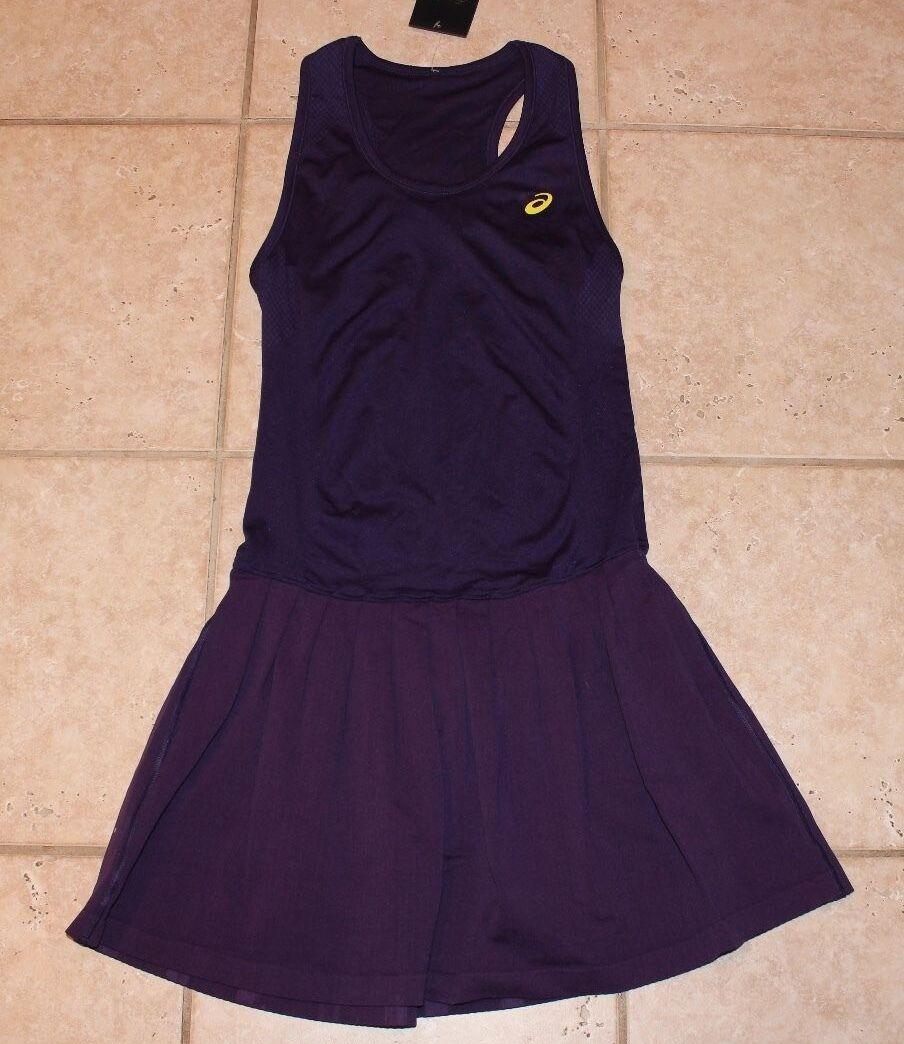 NWT Asics Womens Medium Racket Tennis Motion Dry Dress